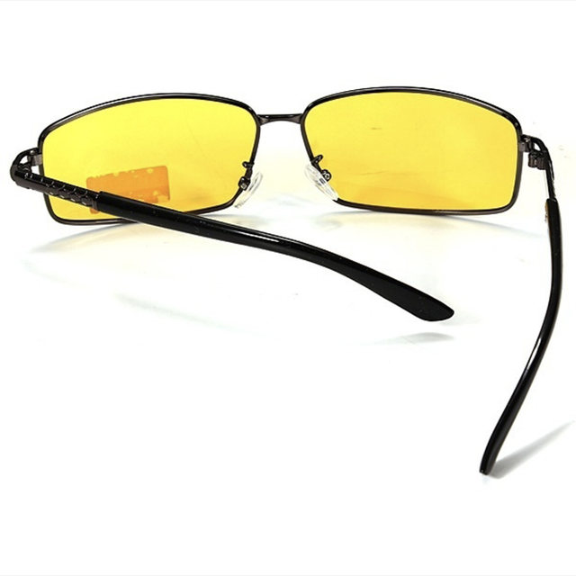 bfd5f4ab3b9d Night Vision glasses Polarized Sunglasses Men high end Goggles Glasses  UV400 Sun aviator Glasses Driver Night Driving Eyewear -in Driver Goggles  from ...