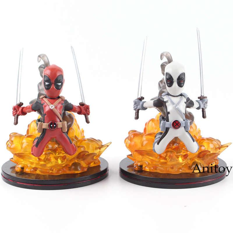 Brinquedos Maravilha Deadpool X-MEN Deadpool Deadpool Figura de Ação Collectible Estátua Boneca PVC Action Figure Collectible Modelo Toy