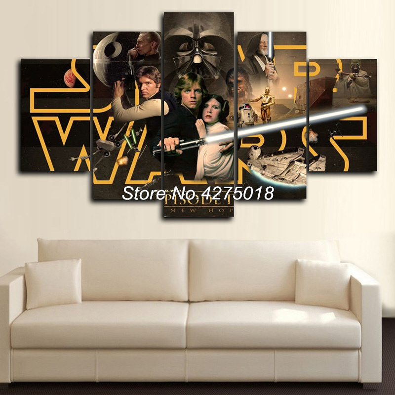 DIY Diamond Painting Cross Stitch Kits Full Diamond Embroidery 5D Square Diamond Mosaic Home Decor STAR WARS 5pcs ML332-in Diamond Painting Cross Stitch from Home & Garden    1