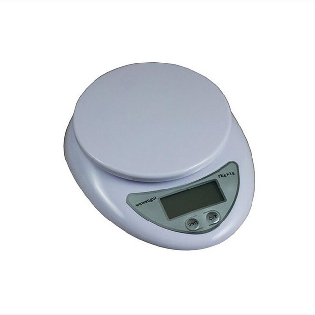 1pc accurate digital scale 5kg 1g household kitchen cooking food