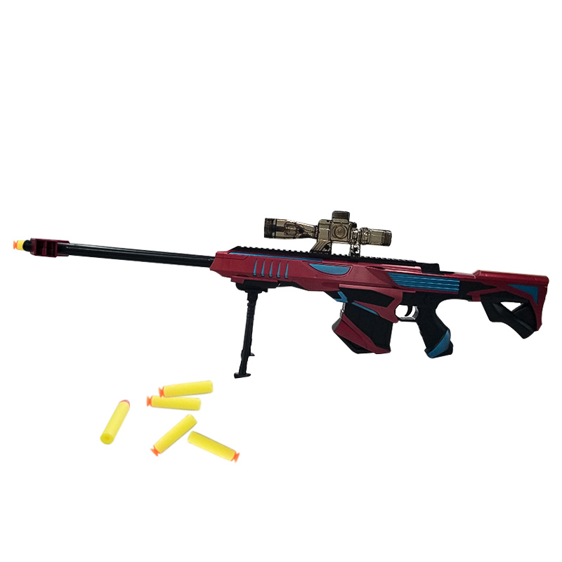 Blaster pistola de agua de juguete Rifle pistola de bala suave plástico Abs de Rifle de francotirador pistola de agua Paintball al aire libre Paintball Elite suave aire