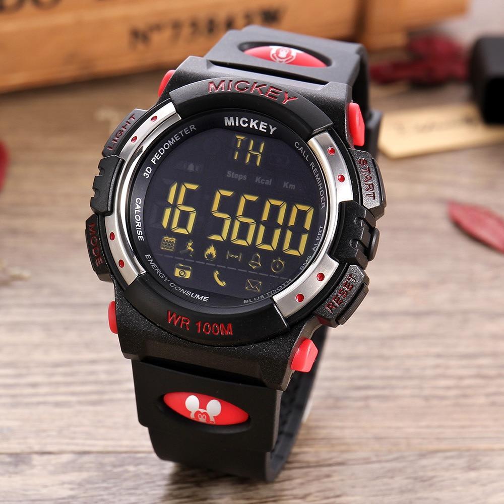 Disney brand mens womens smart digital wristwatches sports