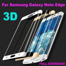 3D 9H Full Coverage Tempered Glass Screen Protector For Samsung Galaxy Note Edge N915 N9150 N915FY N915A N915T N915 Glass Film стоимость
