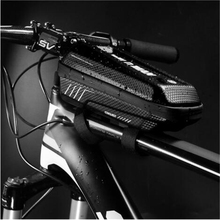 цена на Waterproof Bike Bag Frame Front Head Top Front Tube Frame Cycling Bag Touch Screen Bicycle Bag Accessories MTB Road Rainproof