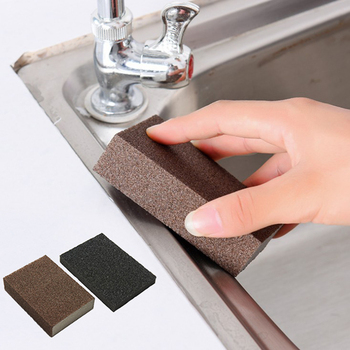 1PC 10*7*2.5cm Emery Magic Sponge For Washing Cleaner Kitchen Home Cleaning Sponge Portable Dishwashing Scouring Sponge Tools image