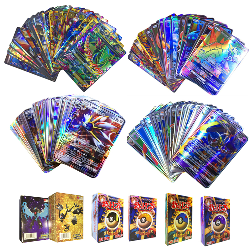 10-styles-gx-mega-shining-cards-game-battle-carte-100pcs-trading-cards-game-children-font-b-pokemons-b-font-toy-for-kid-gift