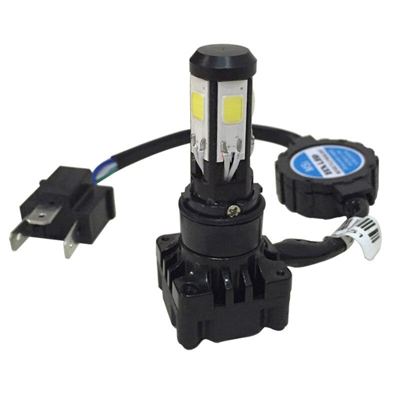 8000LM 6000K H4 Hi//Lo LED Motorcycle Headlight Bulb Motor Fog Lamps Moto 12V