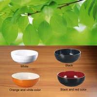 Меламин имитация фарфоровая посуда японский прямой край чаша фаст-фуд меламиновая тарелка чаша А5 меламиновая посуда