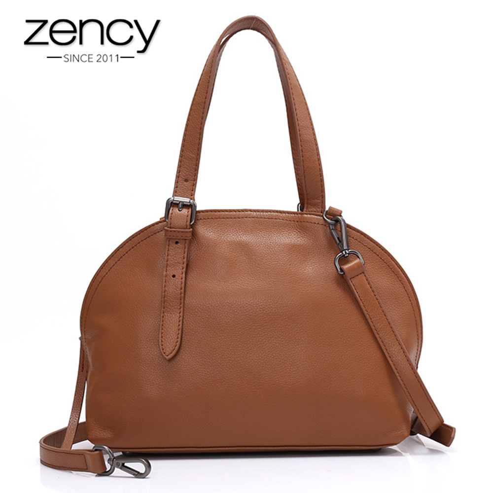 High Quality 100% Soft Genuine Leather Women Handbag European And American Style Top Handle Bags Fashion Lady Tote Bag Messenger