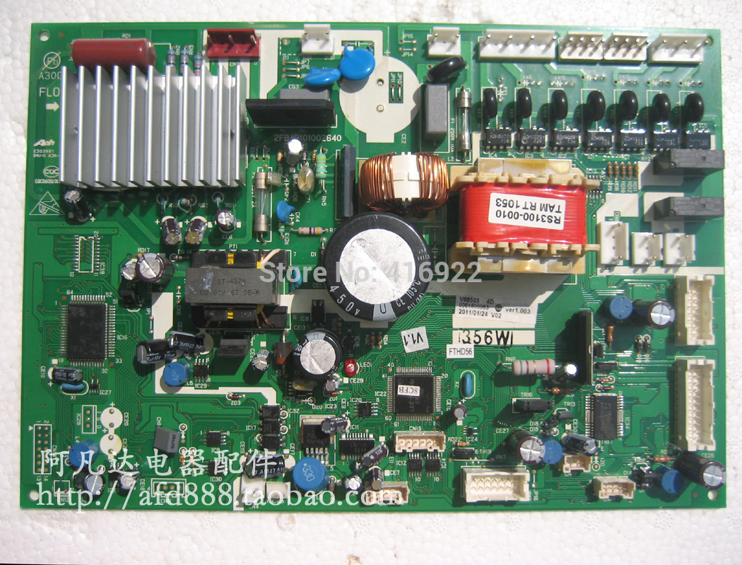 95% new Original good working refrigerator pc board motherboard for 0061800863 on sale motherboard for ci7zs 2 0 370 industrial board ci7zs 2 0 original 95%new well tested working one year warranty