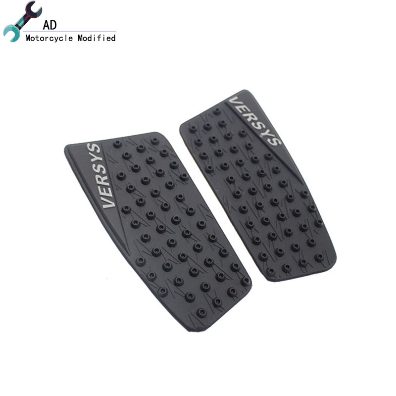 Motorcycle Anti slip Tank Pad 3M Side Gas Knee Grip Traction Pads Protector Stickers For kawasaki Versys 650 ! bjmoto for ktm duke 390 200 125 motorcycle tank pad protector sticker decal gas knee grip tank traction pad side