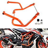 NICECNC Engine Crash Bars Guard Crankcase Bumper Frame Protector For KTM Duke 390 250 2017 2018 Motorcycle Accessories Parts