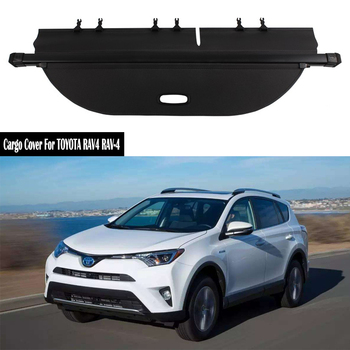 Rear Cargo Cover For TOYOTA RAV4 RAV-4 2013 2014 2015 2016 2017 2018 2019 privacy Trunk Screen Security Shield shade Accessories image