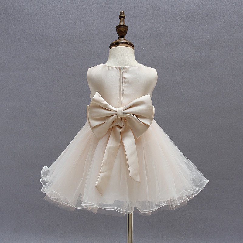 Rosa Kleinkind Taufe Kleid für Baby Mädchen Ballkleid Kinder 2 ...