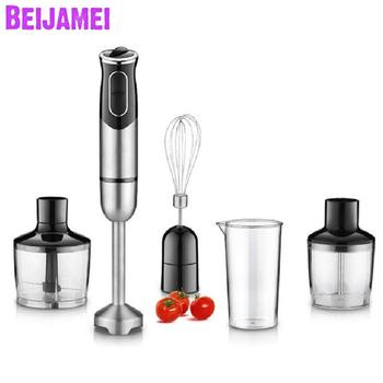 Beijamei Electric Handheld Blender Chopper Whisker Multifunctional Blending Fruit Vegetable Hand Mixer For Food Processor