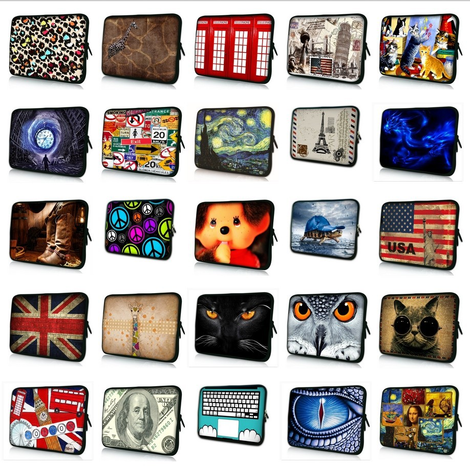 New Fashion Soft Laptop Sleeve Bag Case For Macbook ASUS Dell HP 9.7 10.1 11.6 13 13.3 14 14.4 15 15.4 15.6 Computer #K