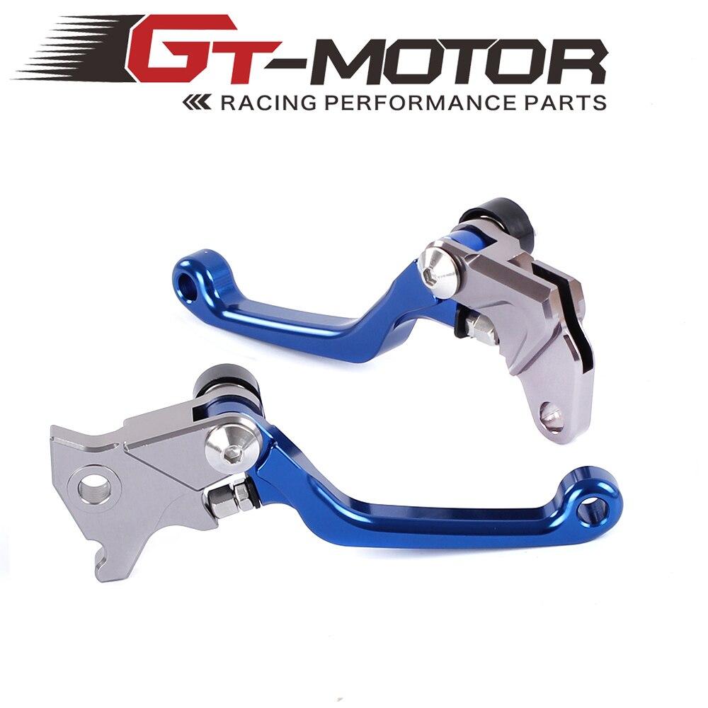 Pivot Brake Clutch Levers for YAMAHA WR250R/X SEROW225/250 TTR250 XT250X TRICKER DT230LANZA free shipping cnc brake clutch levers fit for yamaha tricker wr250r serow ttr250 xt250x dt230
