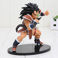 18 cm altura Raditz Super Saiyan Budokai 5 cinco figura de acción del PVC Dragon Ball Z Figurine Collection modelo juguetes