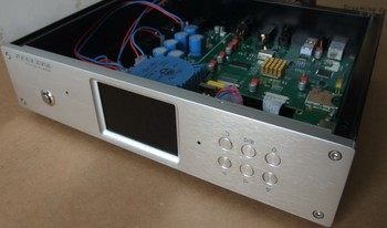 400A silver full Aluminum Preamplifier enclosure/amplifier chassis AMP BOX
