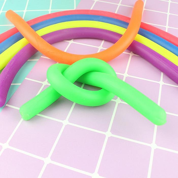 Ручной гиперфлексион эластичные антистрессовые шутки лапша веревка Игрушка антистресс игрушки струны Непоседа аутизм Vent игрушки wyq