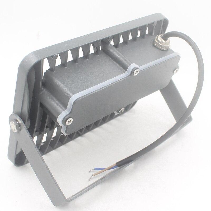 Conception intelligente 50 w LED Lumière Crue super mince IP65 Étanche AC220V 110 v Extérieure led Lumière Lampe de Jardin garage livraison gratuite