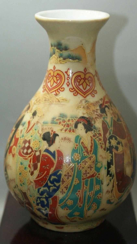 China porcelain painted Old Glaze porcelain Ceramic crafts home desktop office decorations Vases Vase