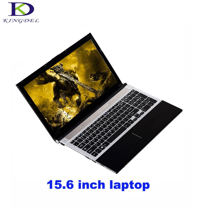 Kingdel 15.6 Inch Laptop PC Air Intel GPU Quad Core N3520 Notebook With 8GB RAM 500GB HDD Windows 7 Bluetooth Multi Card Reader