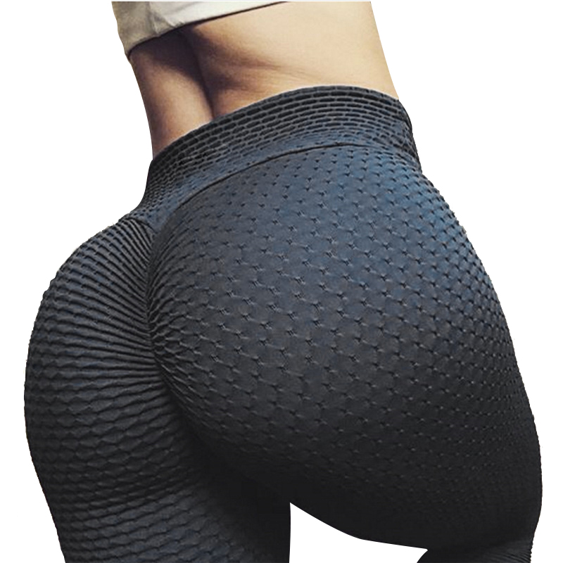 CHRLEISURE Woman   Leggings   Fashion Black White Polyester High Waisted Push Up Slim Stretched Fitness Workout   Leggings   Women