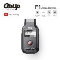 Новый GitUp F1 Wi Fi 4 К 3840x2160 P Спорт действий Камера видео регистраторы Ultra HD промежуток времени Открытый камера для велосипеда петли Регистратор