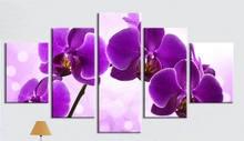 Набор для алмазной вышивки «Орхидея» 5 шт