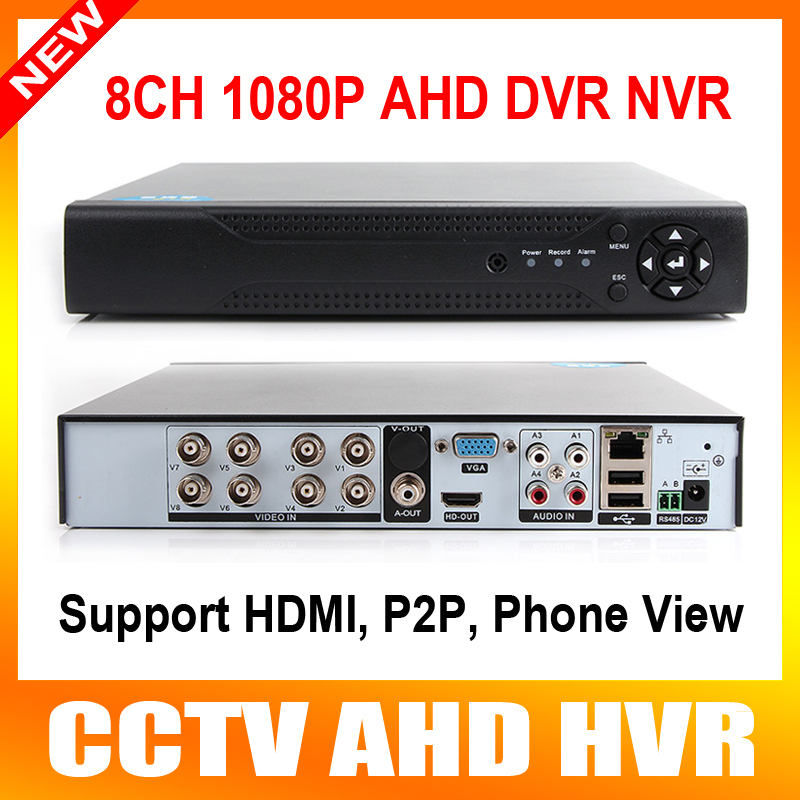 5 IN 1 Hybrid HD 1080P 8CH AHD/TVI/CVI CCTV DVR Realtime HDMI Output 4CH Hybrid DVR NVR FOR Onvif IP Camera P2P XMEYE View 5 in 1 security cctv dvr 4ch ahd 1080n h 264 hybrid video recorder for ahd tvi cvi analog ip camera onvif hdmi 1080p output