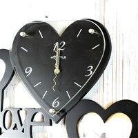 Настенные часы Reloj De Pared современный дизайн Гостиная Современная модная деревянная фоторамка 3d настенные часы с тихим ходом часы для дома