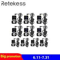 Invisible Dual Earhook Headworn Wireless Microphone Headset Mic Karaoke  Mike Double Channels Cordless Receiver BLX1 Transmitter