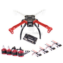 F450 450 Quadcopter MultiCopter Frame Kit W/สีดำLanding Gear APM2.8 2212 920KV 30A Simonk Esc 1045 prop