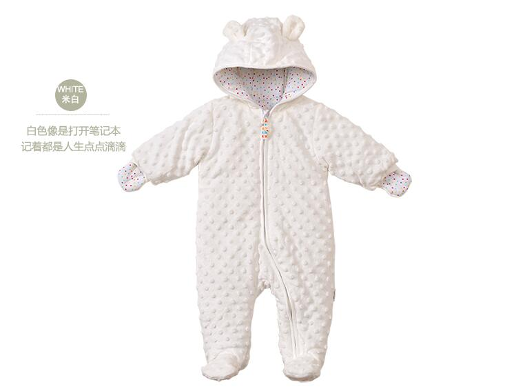 Autumn winter Baby Clothes Cartoon Cotton Thick Warm Infant Jumpsuit Clothing Baby Boys Girls Rompers Overalls , Good quality baby clothes autumn winter baby rompers jumpsuit cotton baby clothing next christmas baby costume long sleeve overalls for boys