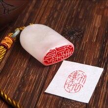 Nome Selo Selo Selo para Pintura Caligrafia tradicional chinesa Casuais materiais de Arte definidas