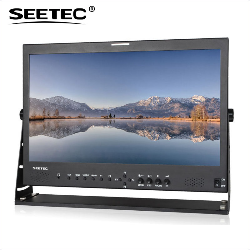 P215-9HSD 21.5 Inch Broadcast Studio Monitor with 3G-SDI HDMI AV YPbPr IPS Seetec 21.5inch Full HD LCD Broadcast Monitors