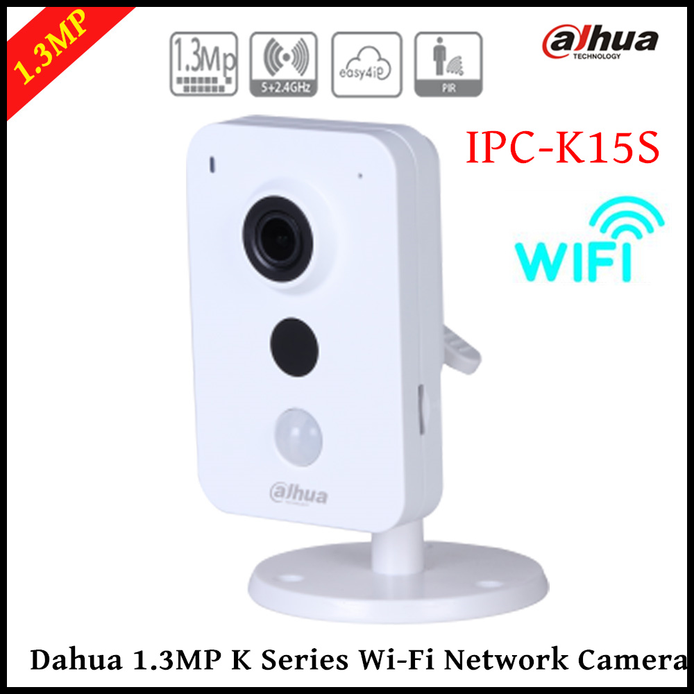 Dahua IP Camera wifi IPC-K15S Wifi Camera K Series Dual Band 1/3 CMOS 1280x960 support Easy4ip cloud and SD card up to 128GB bim and the cloud