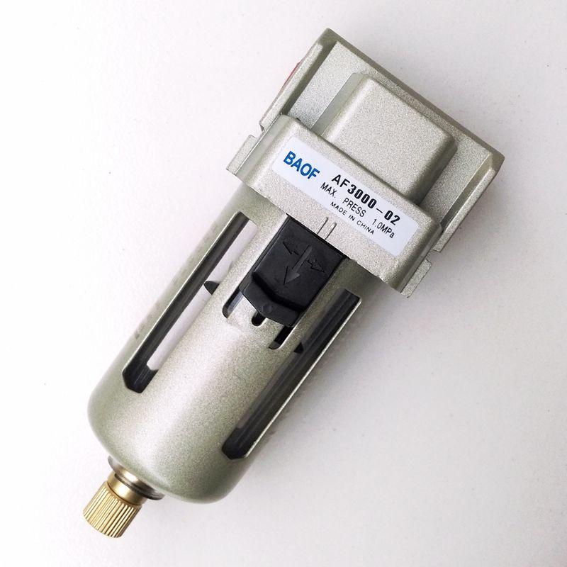 Air filter af3000 02 1 4 39 39 pneumatic air water filter for Filtre waterair