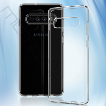 100Pcs/lot For Samsung Galaxy A7 2018 Case Ultra-thin Transparent TPU Silicone Phone Case For Samsung Galaxy S10 Lite Plus S10E