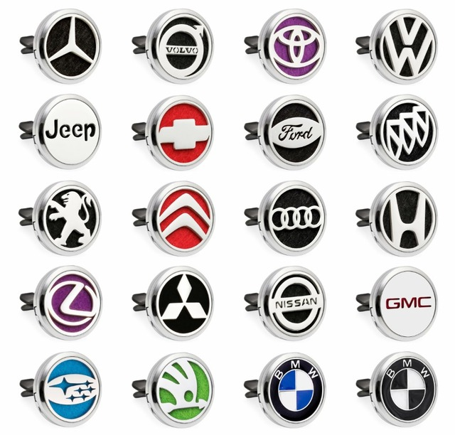 Multiple Options Hot Sale Car Logo Ford Nissan Toyota Car Diffuser