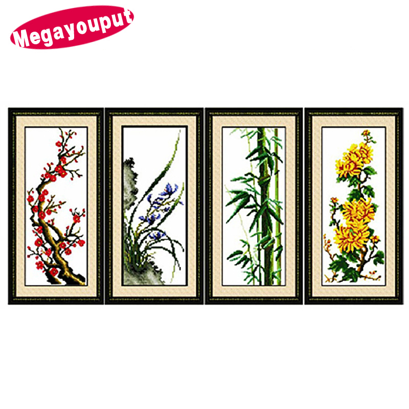 3d Counted Cross Stitch Kits For Embroidery Diy Craft Home Decor Swan Picture Dmc Home Decor