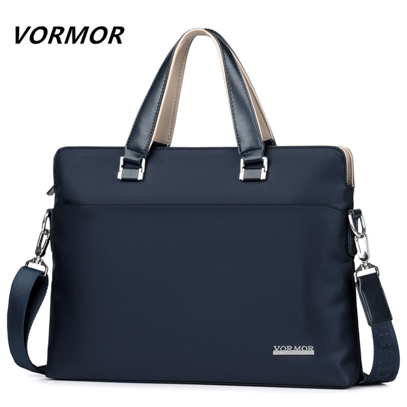 VORMOR Famous Brand Men Briefcase Bag Waterproof Oxford  Business Laptop Bag Fashion Male Handbag Shoulder Bags 2019 New