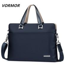 Vormor famosa marca dos homens maleta saco à prova doxford água oxford negócios bolsa para portátil moda masculina sacos de ombro 2019 novo
