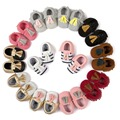12 Styles 2016 New Fashion Suede PU Leather Infant Toddler Newborn Baby Girl Boy First Walkers Crib Moccasins Soft Moccs Shoes