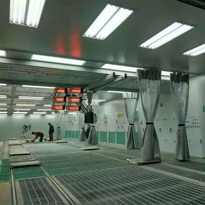 Мульти станции живопись металлическая пластина линии сборки автомобиля ремонт красильной линии Сделано в Китае