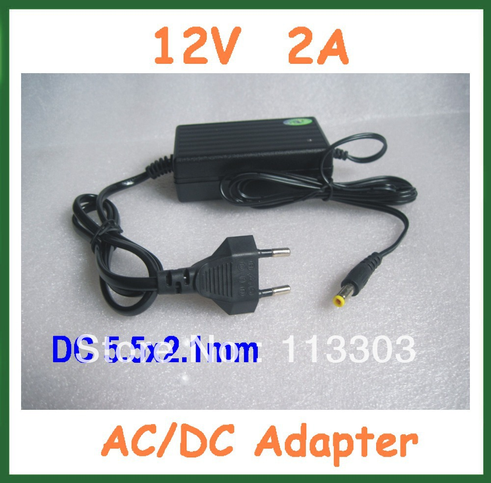 20pcs 12v 2a Ac Dc Adapters 55x21mm Power Supply Adapter Lm2575 Simple Switcher 1a Step Down Voltage Regulator For Cctv Digital Photo Frame Etc 100 240v Free Shipping