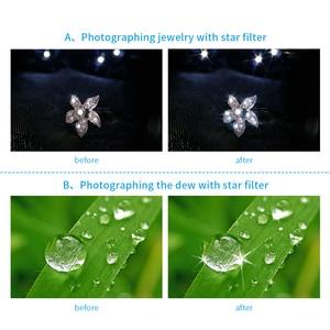 Image 4 - APEXEL 2in1 נייד טלפון עדשת 25mm 20x סופר מאקרו עדשה עם כוכב מסנן נייד צילום lente עבור smartphone APL 25SR