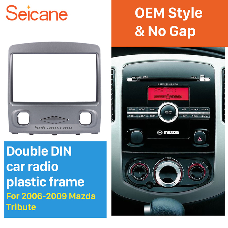 Seicane 2 Din Car Gps Radio Fascia Stereo Panel Dash Kit For 2006 Rhaliexpress: 06 Mazda Tribute Radio Replacement At Gmaili.net