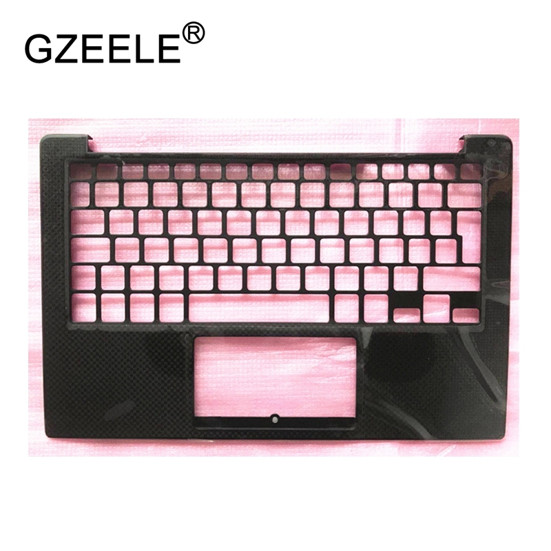 GZEELE new For DELL XPS13 9350 9360 Palmrest Top case Keyboard Housing 43WXK 043WXK CN-043WXK bottom top cover NXHVX PHF36 BLACK new emay gaahoo power led or microphone board ffc flex cable for dell xps13 9343 9350 9360 fru 0m7kyc cn 0m7kyc